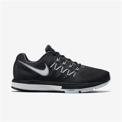 nike mens air zoom vomero  running shoes charcoalblack tennisnutscom