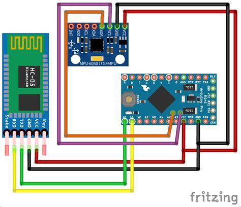 diy arduino inclinometer  mpu