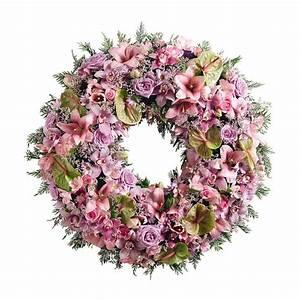 Bouquet De Fleurs Interflora : couronne deuil rose interflora ~ Melissatoandfro.com Idées de Décoration