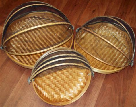 bamboo food cover  bali indonesia handmade products