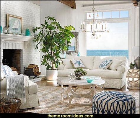 nautical livingroom decorating ideas coastal seaside
