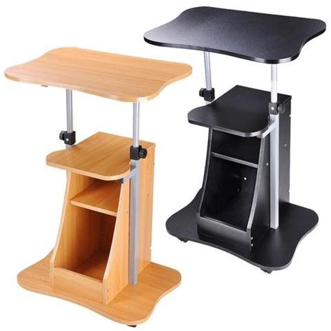 buy ersand shops multipurpose height adjustable mobile rolling laptop notebook stand lectern