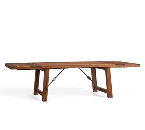 pottery barn kirkwood dining table benchwright extending table benchwright chair dining set