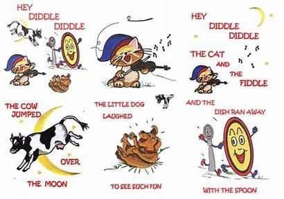 Hey Nursery Rhymes Clipart Diddle Preschool Rhyme