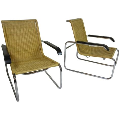 marcel breuer b 35 chairs for thonet for sale at 1stdibs