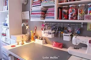 Créer Son Bureau Ikea : d co 12 id es pour am nager son atelier couture dans un ~ Melissatoandfro.com Idées de Décoration