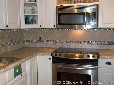 Kitchen Diy Remodel On A Budget  2 Boys + 1 Girl = One