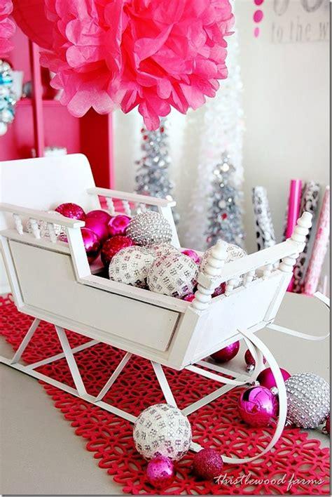 top  sleigh sled decoration ideas  christmas