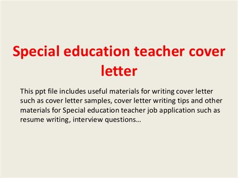 10 Special Education Cover Letter Doctors Signature