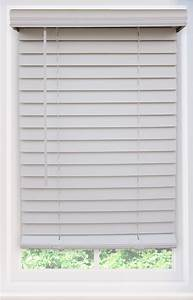 Phase Ii 2 U0026quot  Cordless Faux Wood Blinds