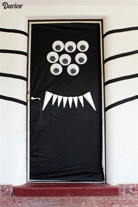 halloween door decorations diy silly spider darice