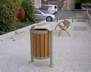 Mobilier Bois Design : ensemble mobilier bois metal design am nagements urbain pour collectivit s jean paul husson ~ Melissatoandfro.com Idées de Décoration