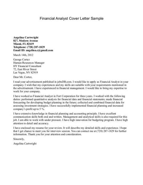 Policy Analyst Cover Letter by Policy Analyst Cover Letter