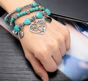 Comment Faire Un Bracelet En Perle : comment faire des bracelets en lastique tuto et quelques jolis mod les ~ Melissatoandfro.com Idées de Décoration