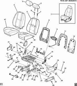 Chevrolet Silverado Handle  Seat Adjuster  Recliner  Handle