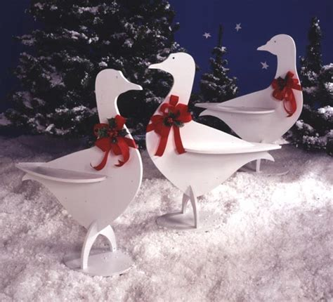 holiday honkers large format paper woodworking plan