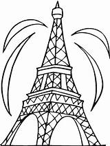 Eiffel Tower Coloring Pages Printable sketch template