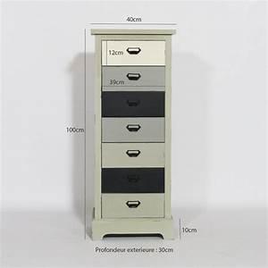 Meuble 25 Cm De Profondeur : meuble largeur 25 cm maison design ~ Edinachiropracticcenter.com Idées de Décoration
