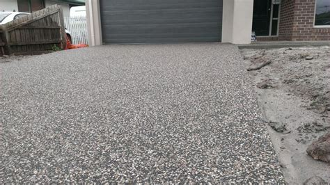 exposed aggregate driveway my concrete