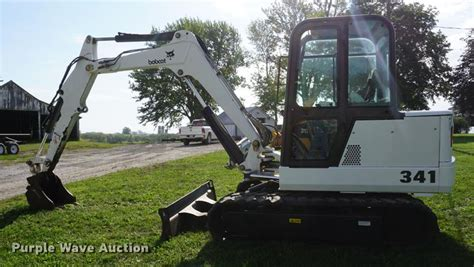 bobcat  mini excavator  cosby mo item dd sold purple wave