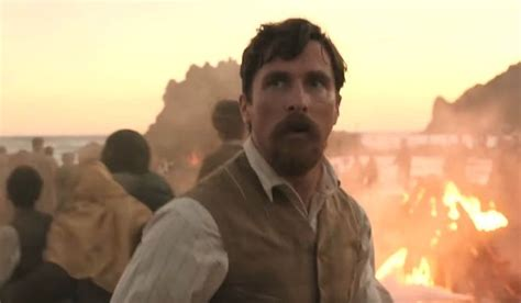 Actor Christian Bale Stars Reporter Chris Myers The