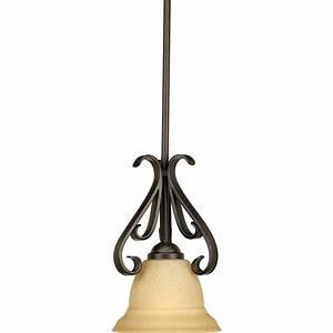 Progress lighting torino collection light forged bronze