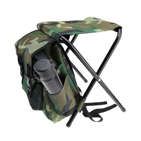 Stool Backpack - 2in1 folding fishing stool backpack seat chair
