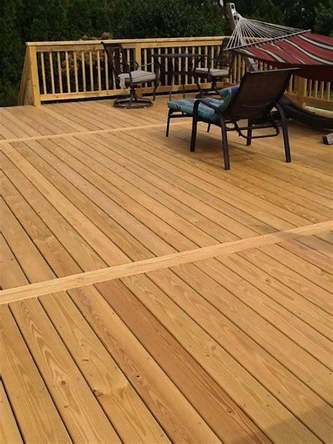 pressure treated pine deck pictures ideas designs