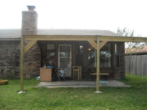 how to build a patio cover with a corrugated metal roof patio how to build and diy patio