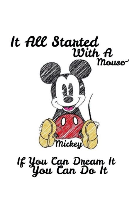 mickey mouse brainy quotes