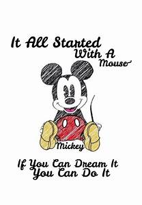 Mickey mouse phrase | MICKEY & MINNIE MOUSE | Pinterest ...