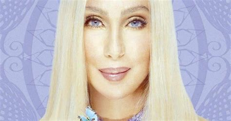 Singer And Actress, Cher With Long Straightened Hair