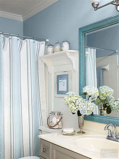 beach bathroom decor  homes gardens