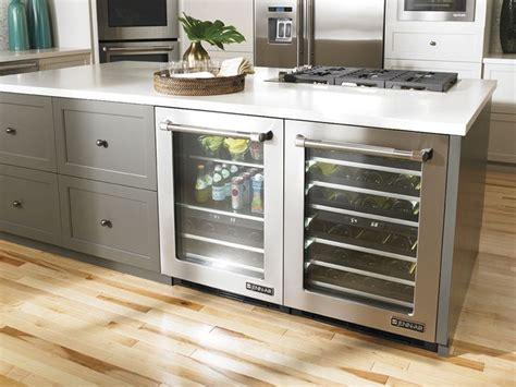 jenn air built   counter refrigerator  dons