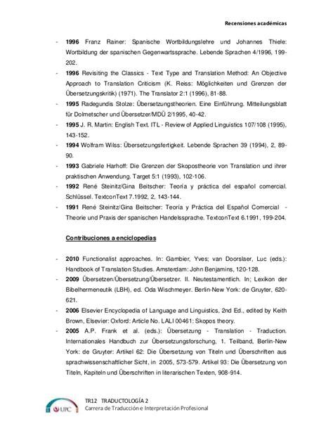 Recensi 243 N Academica Sobre Texto Base Texto Meta Un
