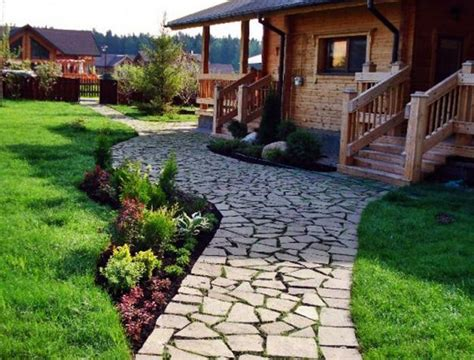 Stone Walkways And Garden Path Design Ideas