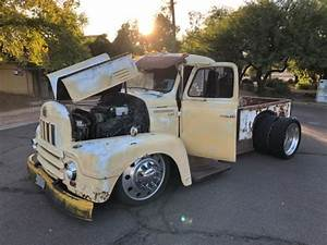 1956 International Harvester R190 Hot   Rat Rod Custom Built Truck Dully 24 Alcoa