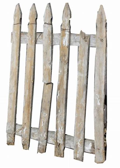 Rustic Wooden Elements Fence Picket Graphic Textures
