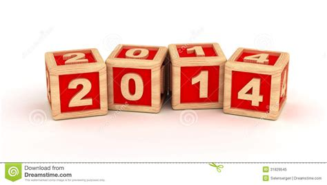 2014 New Years Stock Illustration. Illustration Of