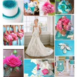 pink n blue wedding mosaic polyvore - Pink And Blue Wedding Colors