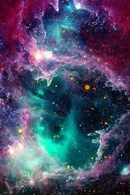 Beautiful Space Galaxy Stars