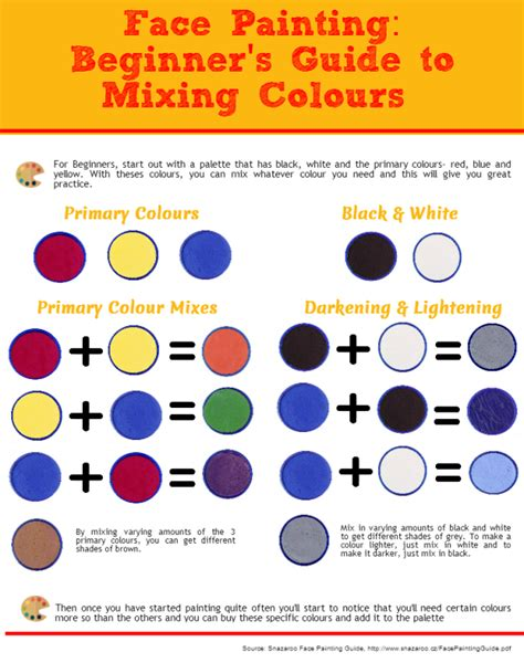 painting info try colors an color mixing tool