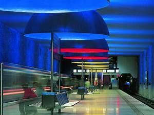 Ingo Maurer München : e as esta es de metro mais espetaculares da europa s o fotos idealista news ~ Frokenaadalensverden.com Haus und Dekorationen