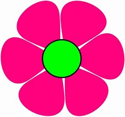 Flower Pink Clip Clipart Clker