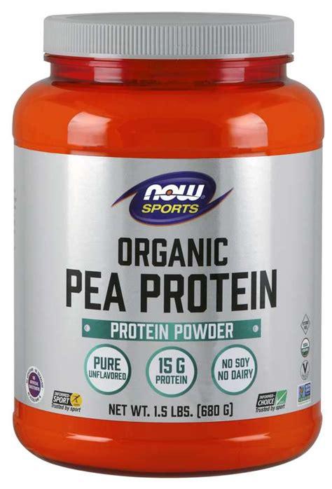 pea protein organic pea protein powder  foods