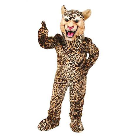 Leopard Cheetah Jaguar Mascot Costume