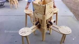 Klapptisch Mit Stühlen : klapptisch mit integrierten st hlen zum selberbauen ~ Lateststills.com Haus und Dekorationen