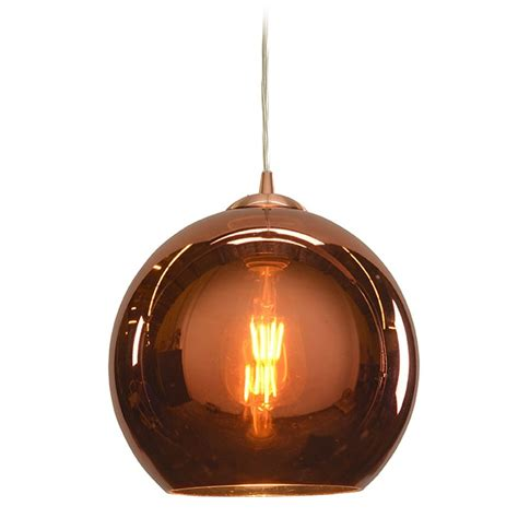 copper pendant light access lighting glow brushed copper mini pendant light