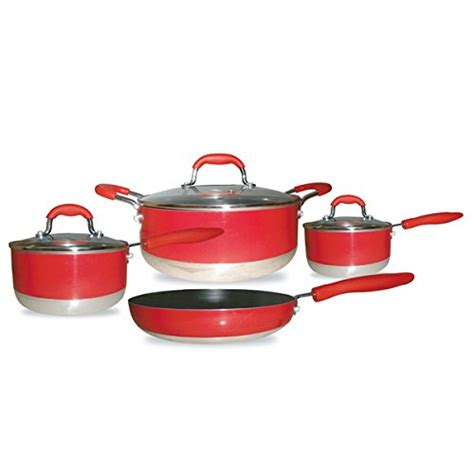 induction pots cookware cooking nuwave non pans kitchen stick silicone rated gourmet chef steel amazon