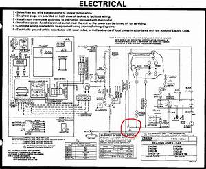 Coleman Furnace Wiring Diagram Heat And Air 005253